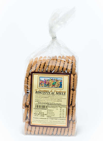 biscotti al miele interno