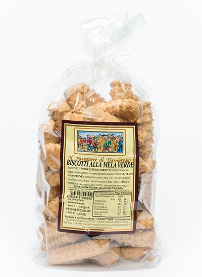biscotti alla mela verde interno