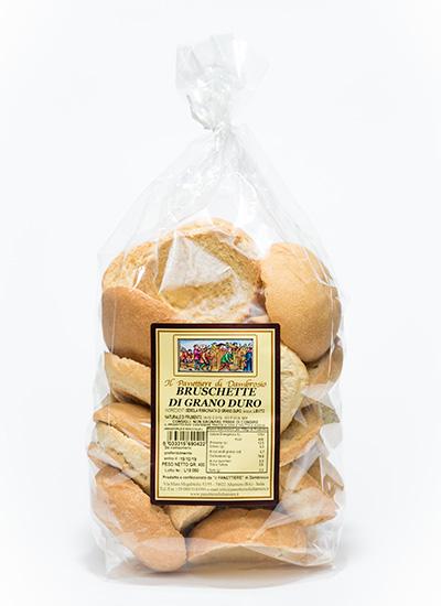 bruschette di grano duro interno