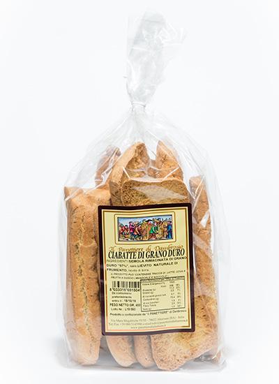 ciabatte di grano duro interno
