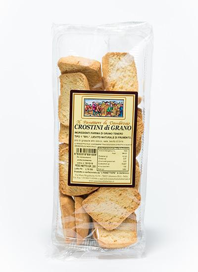 crostini di grano interno