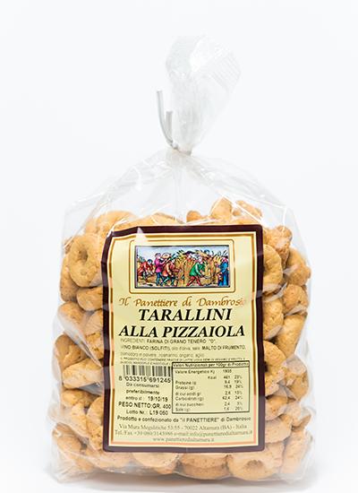 tarallini alla pizzaiola interno